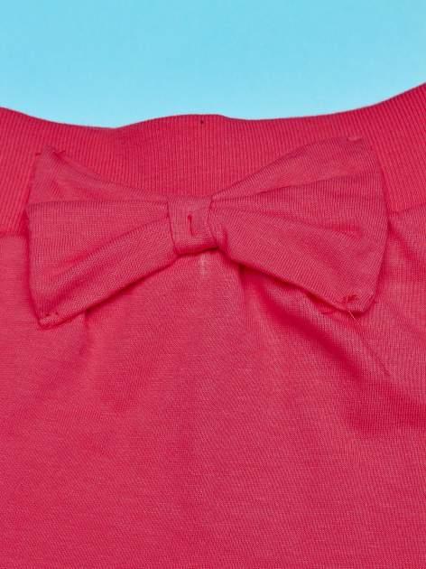 Koralowa spódnica dla dziewczynki z falbanami MINNIE MOUSE                                  zdj.                                  3