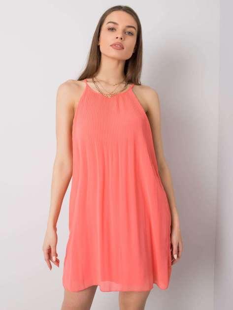 Koralowa sukienka Blair SUBLEVEL