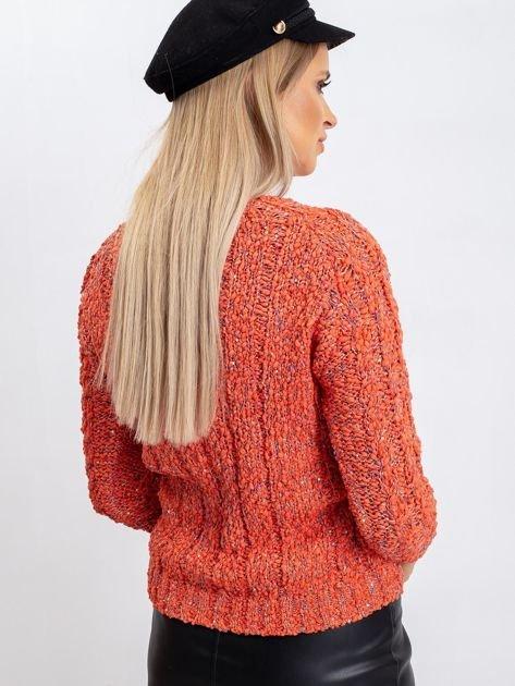 Koralowy sweter April                              zdj.                              2