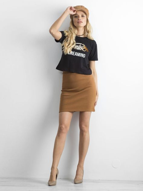 Koszulka damska czarna                              zdj.                              4