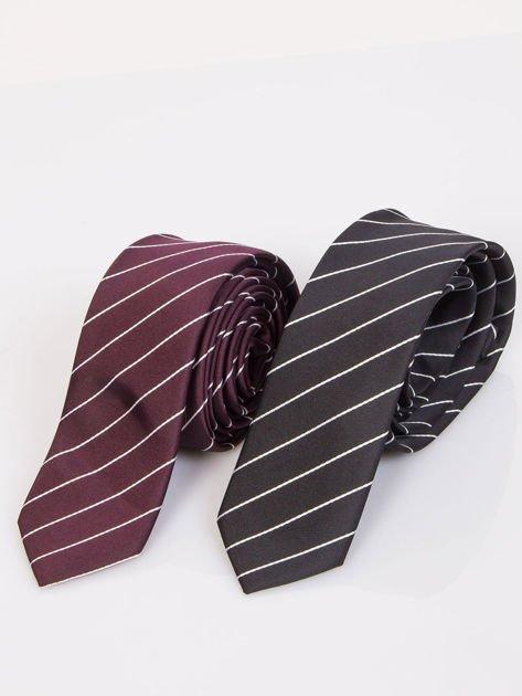 Krawat męski we wzory 5-pak wielokolorowy                              zdj.                              4