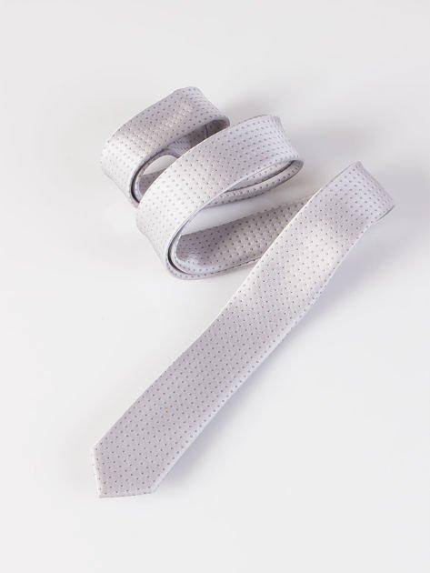 Krawat męski we wzory wielokolorowy                              zdj.                              10