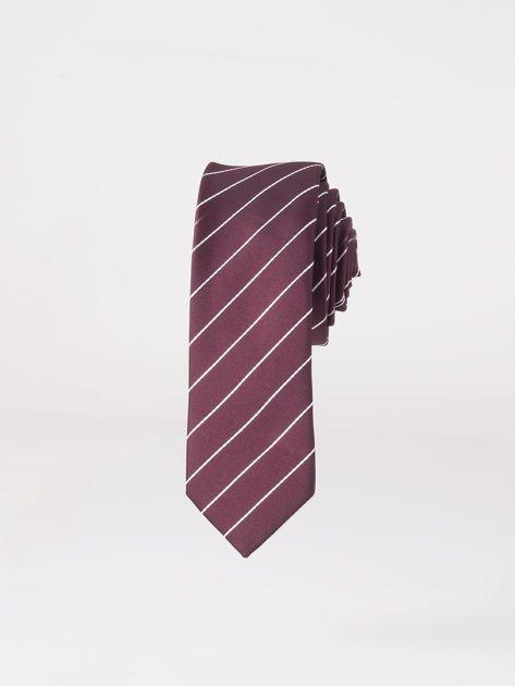 Krawat męski we wzory wielokolorowy                              zdj.                              1
