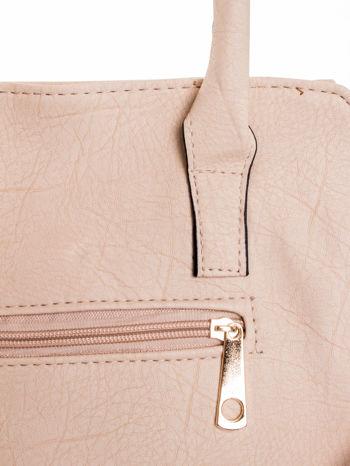 Kremowa torba shopper bag                                  zdj.                                  7