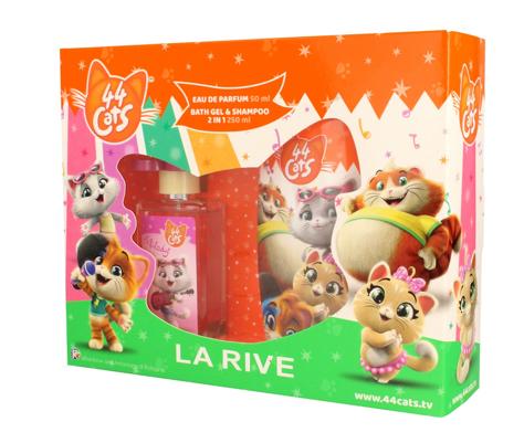 """La Rive Disney 44 Cats Zestaw prezentowy (woda perfumowana 50ml+żel pod pr.2w1 250ml)"""""""
