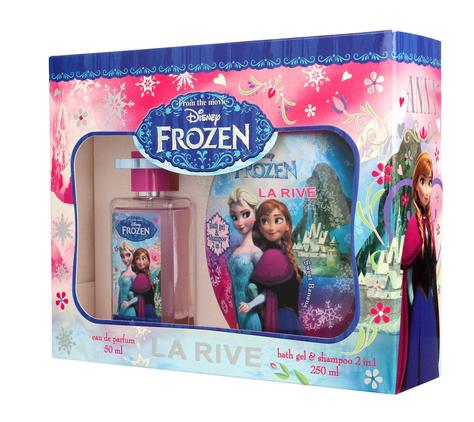 """La Rive Disney Frozen Zestaw prezentowy (woda perf. 50ml+żel pod prysznic 2w1 250ml)"""""""