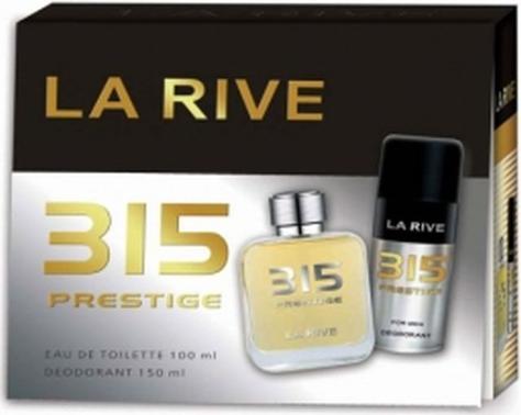 """La Rive La Rive for Men 315 Prestige  Zestaw/edt100ml+deo150ml/"""""""