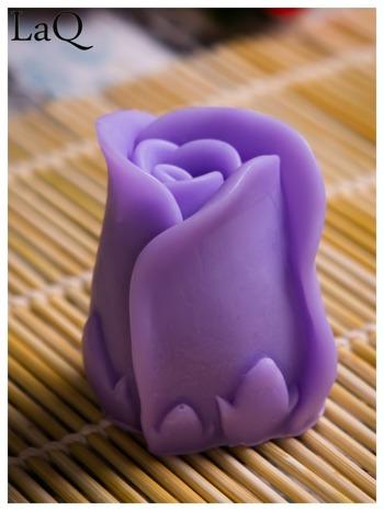 LaQ Mydełko Kwiat róży - fioletowy / Zapach - lawenda BEZ SLS i SLES                                  zdj.                                  4