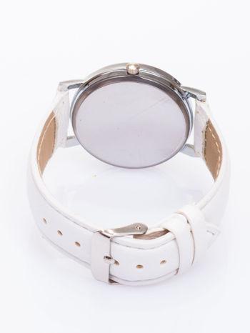 Ładny biały zegarek damski                                   zdj.                                  3