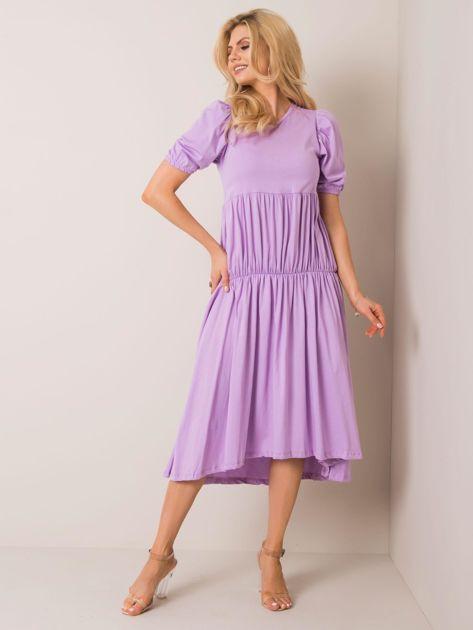 Liliowa sukienka Klara RUE PARIS