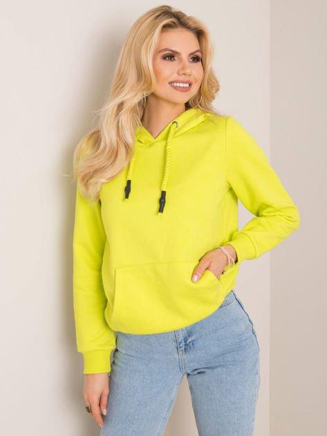 Limonkowa bluza Snappy