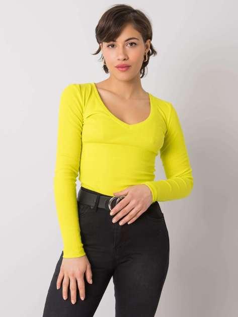 Limonkowa bluzka Maya