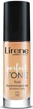 Lirene Perfect Tone fluid dopasowujący się NUDE 102 30 ml