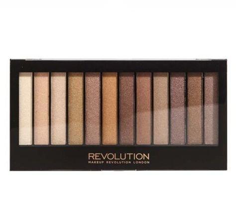 MAKEUP REVOLUTION Paleta 12 cieni Essential Shimmers 14 g                              zdj.                              1