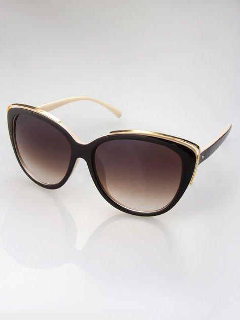 MANNINA Okulary przeciwsłoneczne + miękkie etui gratis                              zdj.                              3