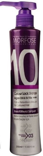 MORFOSE 10 SZAMPON COLOUR LOCK do włosów farbowanych 350 ml