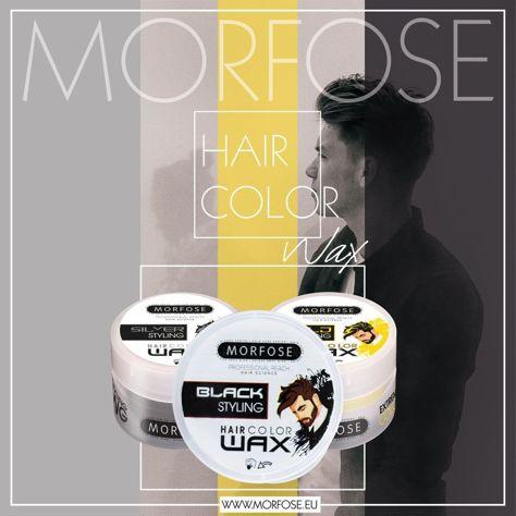 MORFOSE Złoty wosk do stylizacji włosów HAIR COLOR WAX 100 ml                              zdj.                              2