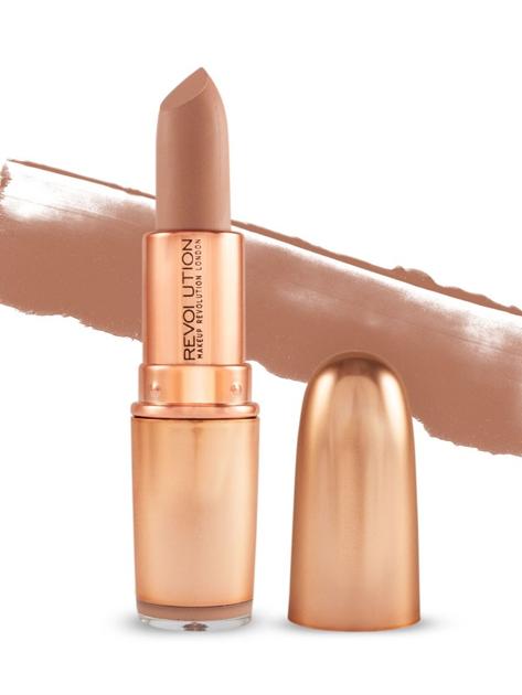Makeup Revolution Iconic Matte Nude Lipstick Pomadka do ust matowa Expose