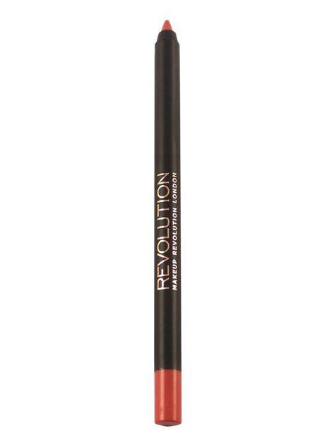 Makeup Revolution Retro Luxe Gloss Lip Kit Zestaw do ust konturówka 1g + matowa pomadka w płynie 5,5ml Regal                               zdj.                              5