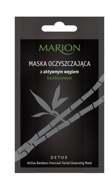 Marion Detox Aktywny Węgiel Maska oczyszczająca 10 g