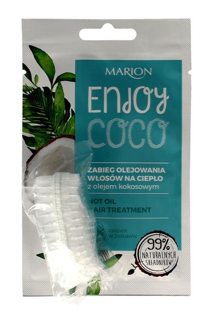 """Marion Enjoy Coco Zabieg olejowania włosów na ciepło z olejem kokosowym  20ml""""                              zdj.                              1"""