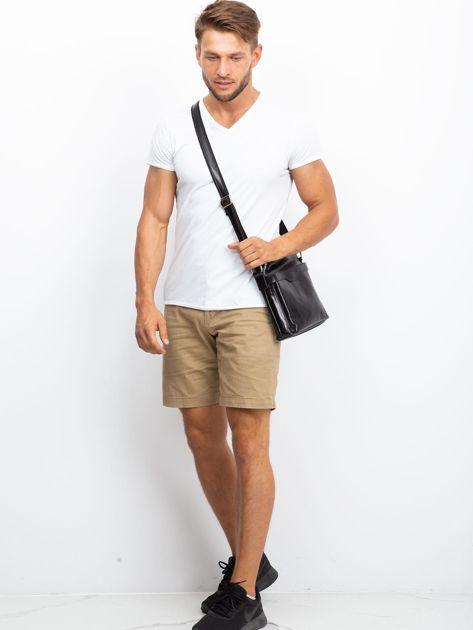 Męska torba skórzana czarna                              zdj.                              5