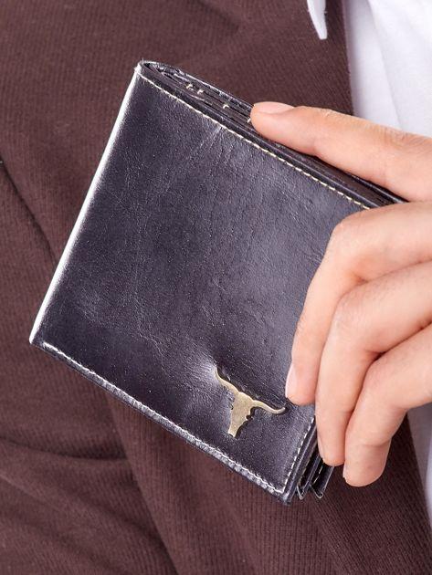 Męski portfel czarny ze skóry                              zdj.                              11