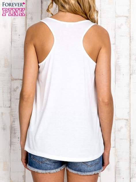 Miętowa bluzka koszulowa z nadrukiem antylopy                                  zdj.                                  2