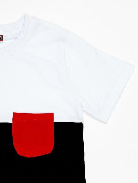 Modułowy t-shirt dziecięcy z suwakami                              zdj.                              7