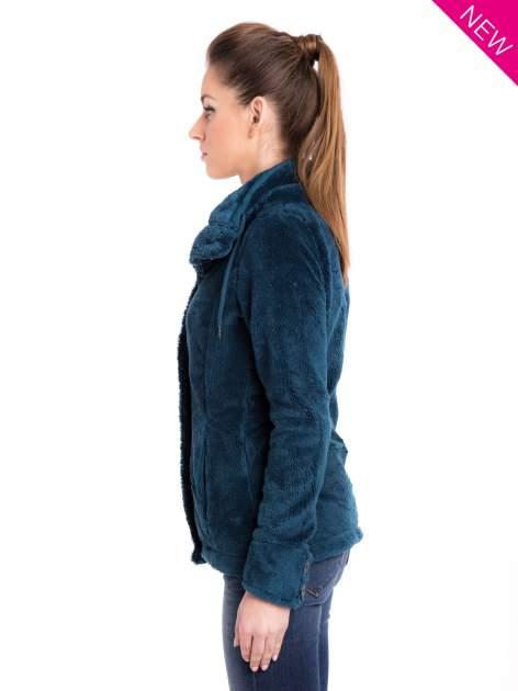 Morski bluza pluszowa z wysokim kołnierzem                                  zdj.                                  5
