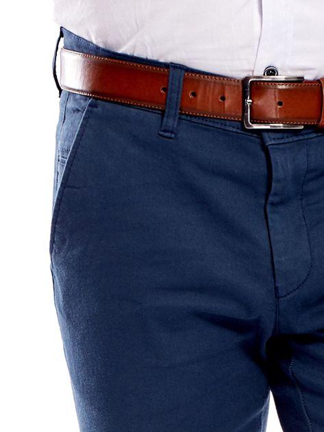 Morskie materiałowe spodnie męskie                              zdj.                              5