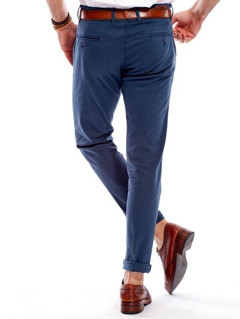 Morskie materiałowe spodnie męskie                              zdj.                              2