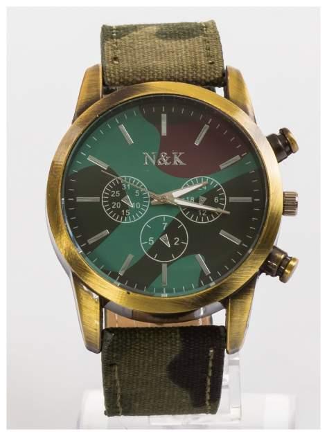 N&K Męski zegarek MORO z ozdobnym tachometrem                                   zdj.                                  1