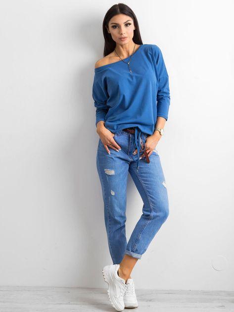 Niebieska bluzka Fiona                              zdj.                              4