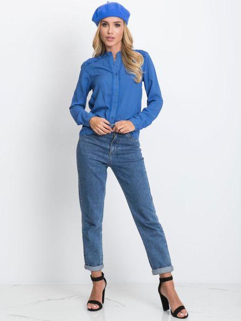 Niebieska bluzka Flow                              zdj.                              4