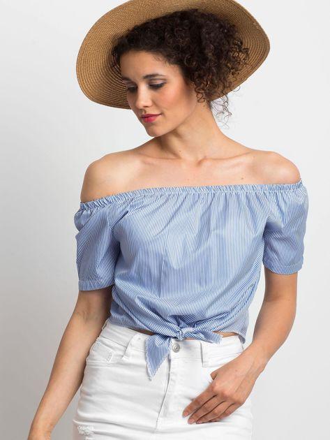 Niebieska bluzka Ladylike                              zdj.                              1