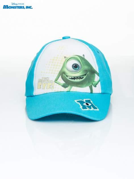 Niebieska chłopięca czapka z daszkiem POTWORY I SPÓŁKA