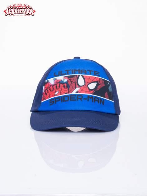 Niebieska chłopięca czapka z daszkiem SPIDERMAN                                  zdj.                                  1