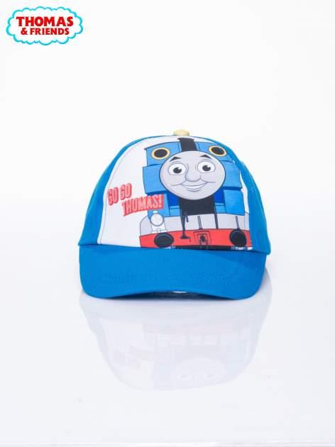 Niebieska chłopięca czapka z daszkiem TOMEK I PRZYJACIELE                                  zdj.                                  1