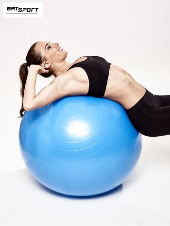 Niebieska duża piłka fitness                                  zdj.                                  7