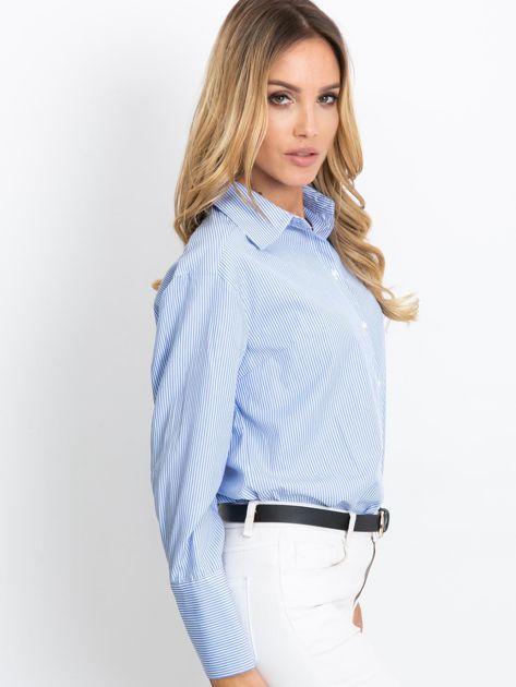 Niebieska koszula Avita                              zdj.                              3