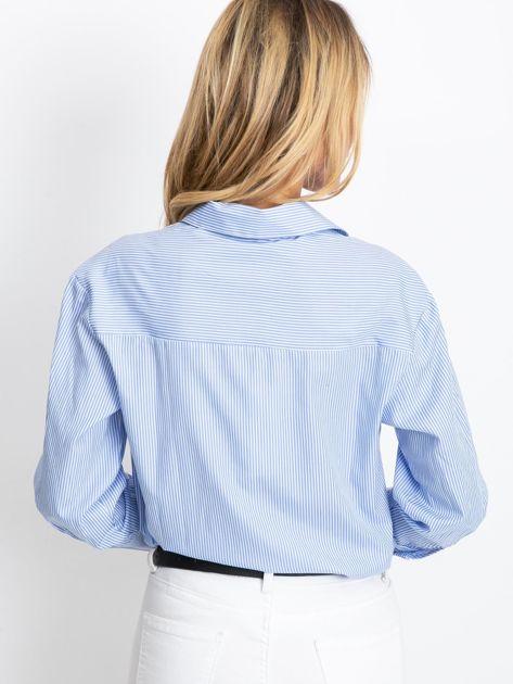 Niebieska koszula Avita                              zdj.                              2