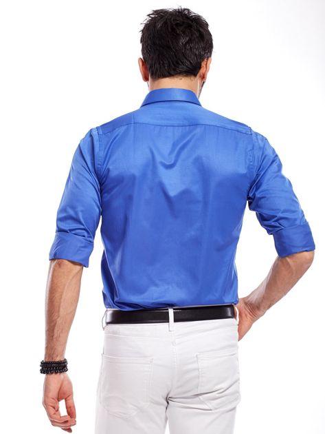 Niebieska koszula męska                               zdj.                              10