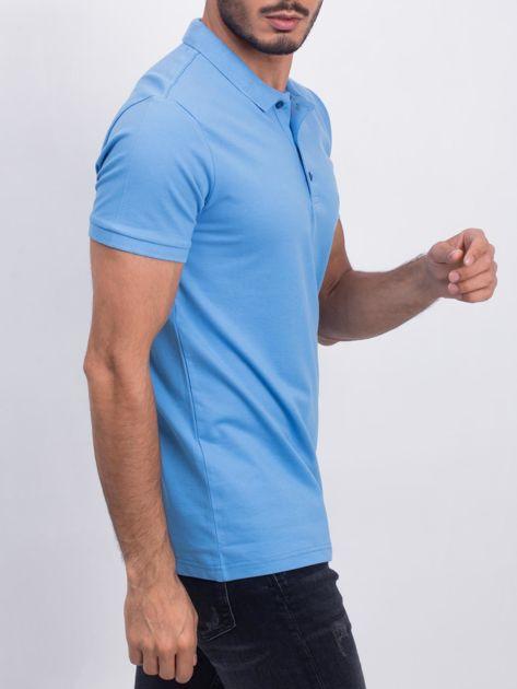 Niebieska koszulka polo Coastal                              zdj.                              3
