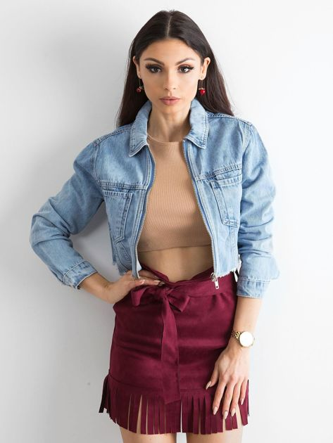 Niebieska kurtka jeansowa Sugar                              zdj.                              1
