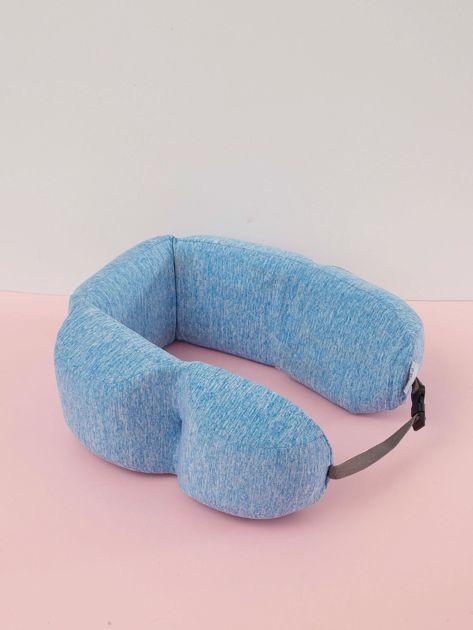 Niebieska poduszka pod plecy                              zdj.                              2