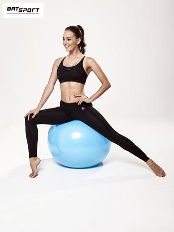 Niebieska średnia piłka do fitnessu                                  zdj.                                  6