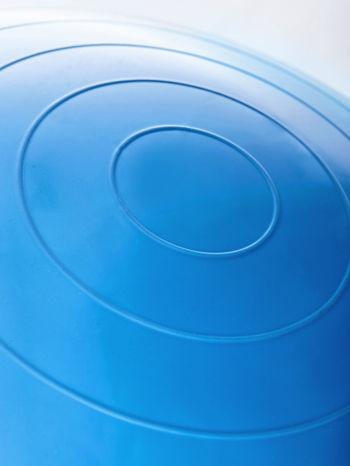 Niebieska średnia piłka fitness                                   zdj.                                  5