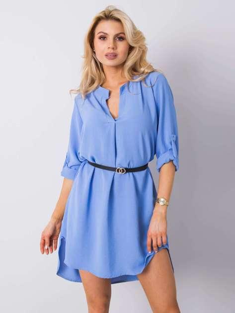 Niebieska sukienka Stella