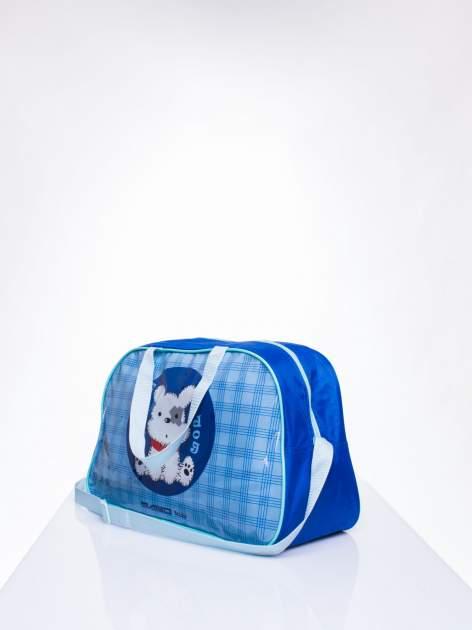 Niebieska torba dla dzieci DISNEY z pieskiem                                  zdj.                                  2